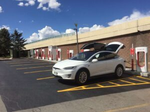 Edwards Station Tesla